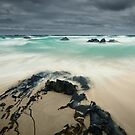 Stormy Day, Beer Barrel Beach, Tasmania by NickMonk