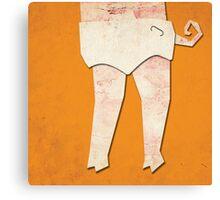 DIAPER PIG Canvas Print