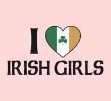 I Love Irish Girls One Piece - Short Sleeve