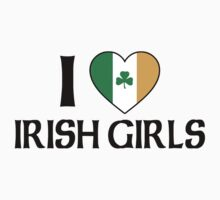 I Love Irish Girls Baby Tee