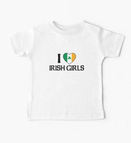I Love Irish Girls Baby Tee