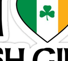 I Love Irish Girls Sticker
