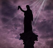 Civil War Monument – Pottsville, PA USA by David Dehner