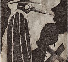 ..The PLague Doctor 1... by Shane Gallagher