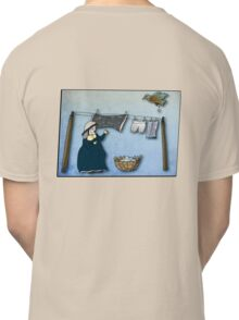the washer woman & her nemesis... (oh crap!) - tee Classic T-Shirt