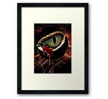 Crystal Realities Eye of R.O.D. Framed Print