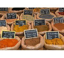 Italian Spices Photographic Print