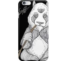 ZEN PANDA iPhone Case/Skin