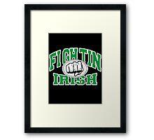 Fighting Irish Framed Print