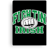 Fighting Irish Canvas Print