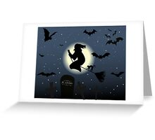 The Witch Greeting Card