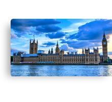 Sunset over Parliament Canvas Print