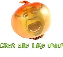 Ogres are like onions by Brambroo