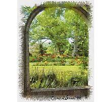 Gardens in Nova Scotia Photographic Print