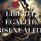 LIBERTE EGALITE BISEXUALITE by lotstradamus