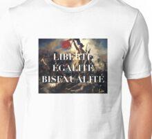 LIBERTE EGALITE BISEXUALITE Unisex T-Shirt