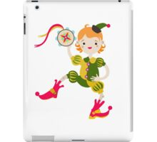 Boy role game playing as a clown. iPad Case/Skin