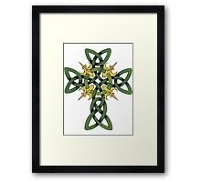 Irish Cross Framed Print