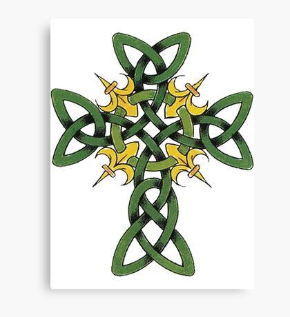 Irish Cross Canvas Print