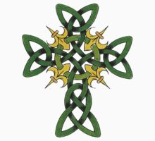 Irish Cross by HolidayT-Shirts