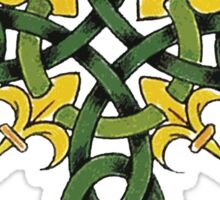 Irish Cross Sticker