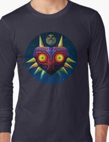 Majora's Mask (Low-Poly) Long Sleeve T-Shirt