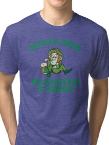Official Irish Hangover Tri-blend T-Shirt