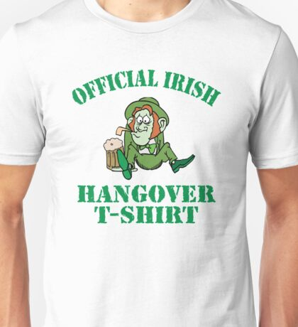 Official Irish Hangover Unisex T-Shirt