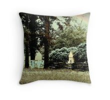 The Peacefulness of Virginia Throw Pillow