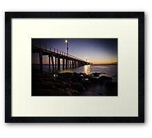 Dawn at Point Lonsdale #1 Framed Print