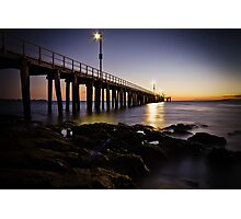 Dawn at Point Lonsdale #1 Photographic Print