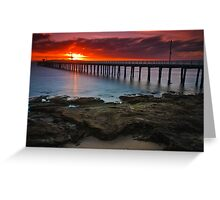 Sunrise at Point Lonsdale #1 Greeting Card