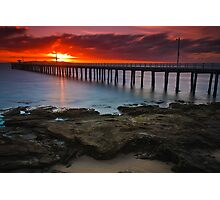 Sunrise at Point Lonsdale #1 Photographic Print