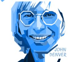 John Denver ~ Blue Christmas #2 Sticker