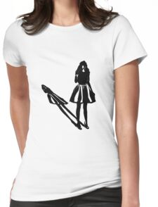Doll Parts Womens Fitted T-Shirt