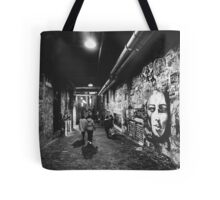 Seattle, Post Alley murals Tote Bag