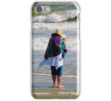 Lady In The Wind iPhone Case/Skin