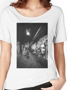Seattle, Post Alley murals Women's Relaxed Fit T-Shirt
