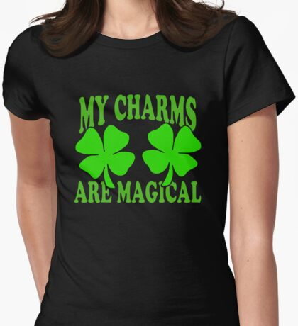 St. Patrick's Day Womens Fitted T-Shirt