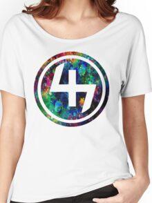 47 LSD ACID OIL CIRCLE  Women's Relaxed Fit T-Shirt