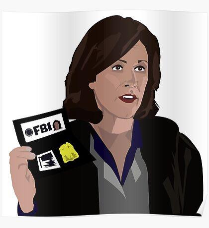 Agent Monica reyes FBI Poster