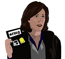 Agent Monica reyes FBI Photographic Print