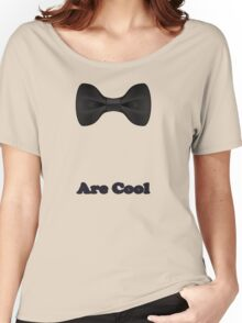 Baby Bow Tie - Jumpsuit - T-Shirt - Are Cool - Clothing Sticker Women's Relaxed Fit T-Shirt