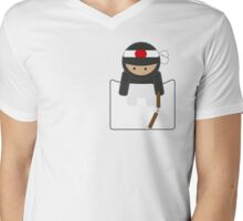 Ninja 2 Mens V-Neck T-Shirt