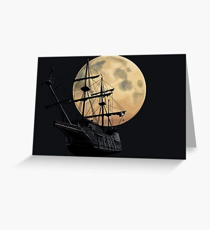 Sailors Of The Night Greeting Card
