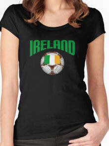 Ireland Soccer Women's Fitted Scoop T-Shirt