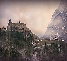 Hohenwerfen Burg, Austria by Luisa Fumi