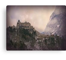 Hohenwerfen Burg, Austria Canvas Print
