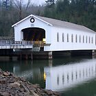 Lowell Covered Bridge by aussiedi