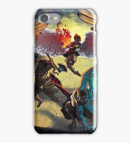 Waging War on Hell iPhone Case/Skin